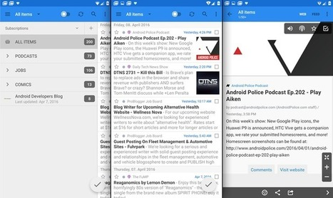 gReader RSS Reader Gets Its First Update In Eight Months, With Chrome Custom Tabs, UI Improvements, LG Multi-Window Support, And More | RSS Circus : veille stratégique, intelligence économique, curation, publication, Web 2.0 | Scoop.it