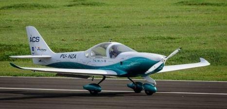 Avião elétrico brasileiro faz vôo inaugural na Usina de Itaipu | Heron | Scoop.it