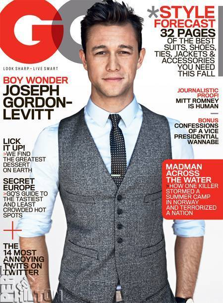 Joseph Gordon-Levitt for GQ 2012 | styles | Scoop.it