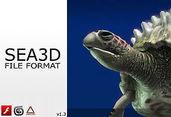 SEA3D File format All-in-one file 3D format for... | Everything about Flash | Scoop.it