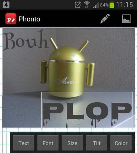 Android – Du texte sur l'image, Phonto | My links | Scoop.it
