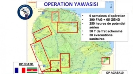 Orpaillage illégal, le succès de l'opération Yawasisi - guyane 1ère | Guyane orpaillage illégal | Scoop.it