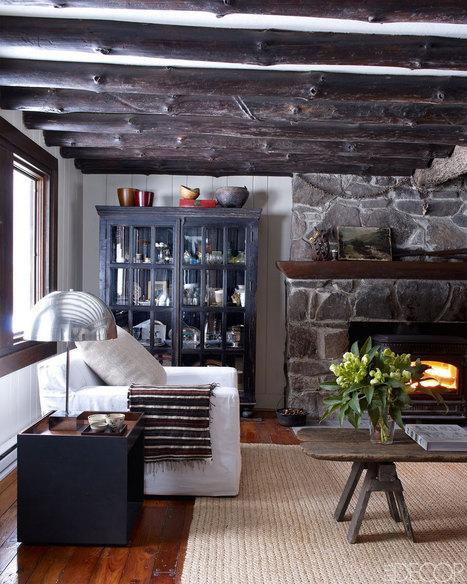 Une maison en bois à l'élégance rustique     PLANETE DECO a homes worldPLANETE DECO a homes world   Maison   Scoop.it