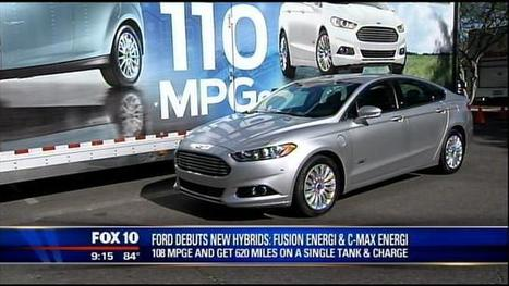 Ford showcases new hybrid electric cars in Tempe | automobile issues | Scoop.it