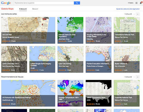 Google Galerie Maps : un atlas numérique pensé pour les amoureux de cartographie | netnavig | Scoop.it