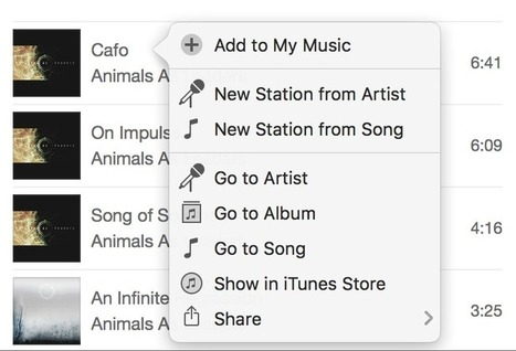 Apple Music is a Usability Nightmare | UX Manifesto | Scoop.it