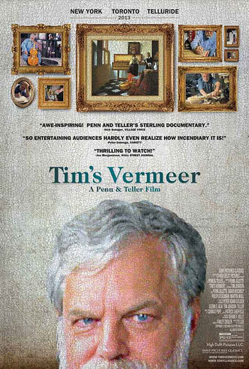 'Tim's Vermeer': Teller talks (yes, talks!) about his astounding documentary - Entertainment Weekly (blog)   Documentary Landscapes   Scoop.it