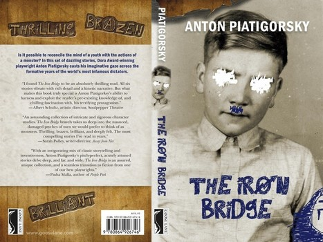 What Were You Thinking? Chris Thompkins (Goose Lane) on his Jacket Design for The Iron Bridge | LibraryLinks LiensBiblio | Scoop.it