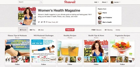 Women's Health Contest Opens Up Pinterest to Advertisers | Cloud Central | Scoop.it