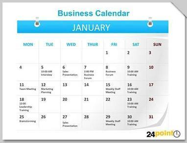Use Calendars to Plan Ahead and Boost Productivity | PowerPoint Presentation Tools and Resources | Scoop.it