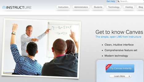 Canvas LMS, the new, open learning management system | Instructure | KgTechnology | Scoop.it