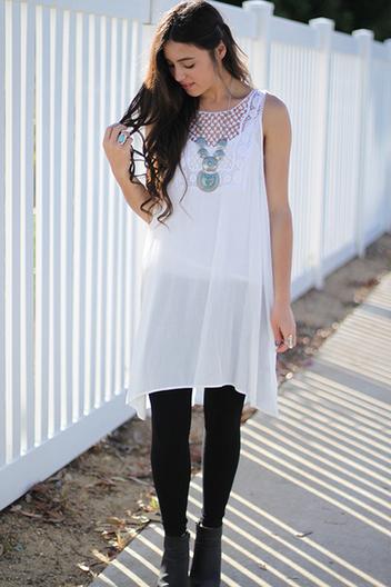 crochet tunic dress | Online shopping store | Scoop.it