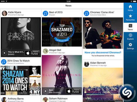 La nouvelle version de Shazam intègre Apple Music - MyBandNews | Digital Music Economy | Scoop.it