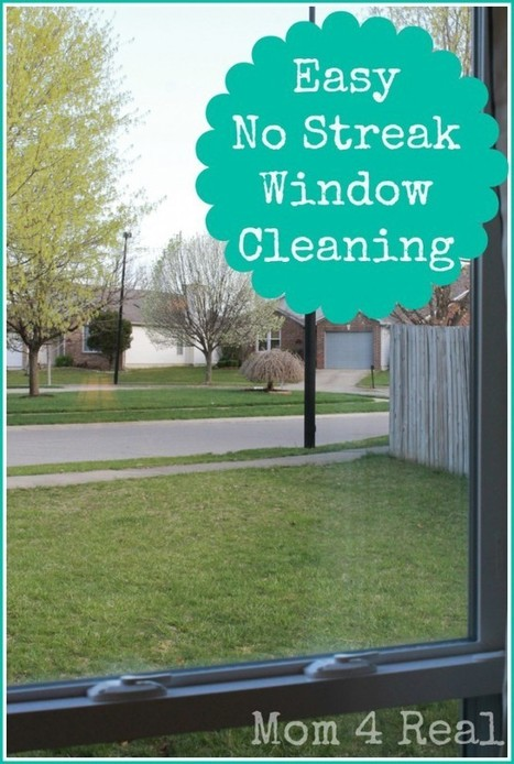 No Streak Window Cleaning | Fun DIY Creative Ideas and Crafts | Scoop.it