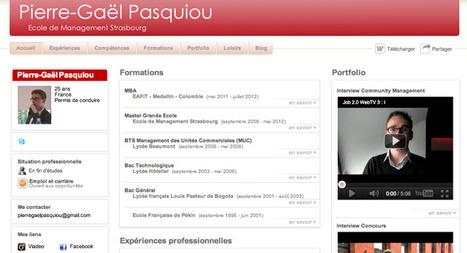 Comment faire son CV en ligne ? - Ecoles2commerce.com | Orientation & Insertion Professionnelle | Scoop.it