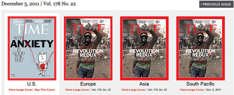 Comparing U.S. & World Covers for TIME Magazine | Archivance - Miscellanées | Scoop.it