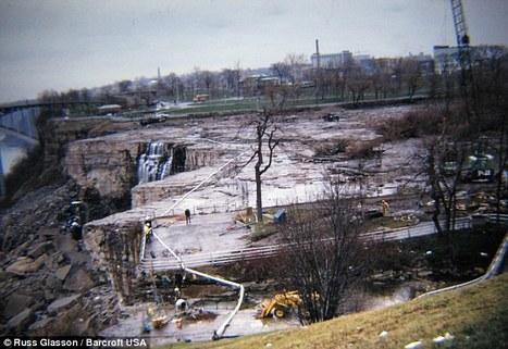 Les chutes du Niagara quand l'eau est coupée | Infos insolites | Scoop.it