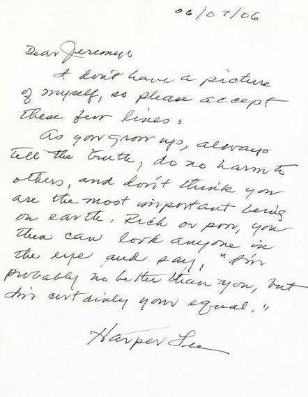 Letters of Note: Advice from Harper Lee | Read Read Read | Scoop.it