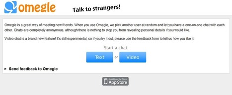 Omegle | Internet Safety Project Wiki | A Parent's Guide to Digital Safety | Scoop.it