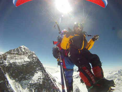 60 years of Everest: Paragliding and hang gliding on the world's highest peak | Volo libero | Scoop.it