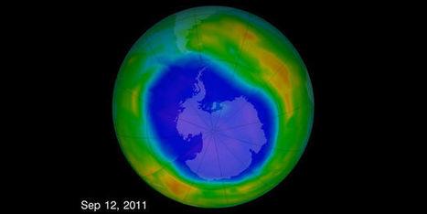 Le trou dans la couche d'OZONE est en train de se résorber | Machines Pensantes | Scoop.it