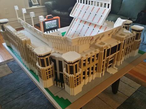LOOK: Fan builds Lego version of DKR Memorial Stadium - CBSSports.com   Heron   Scoop.it