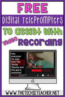 Free Digital Teleprompters to Assist with Video Recording - TechieTeacher   National Disability Coordination Program Northern Victoria   Scoop.it