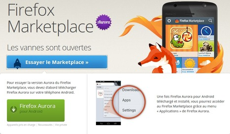 Installer les applications du Firefox Marketplace sur Android | Time to Learn | Scoop.it