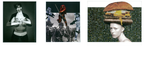"""""""Raw"""", expo de """"collages crus"""" au bar Le Lapin blanc   Bouche à Oreille   Scoop.it"""