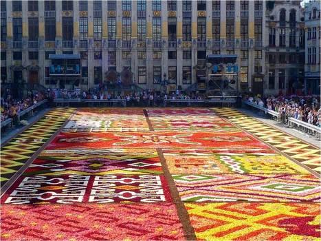 Brussels Flower Carpet 2012 ~ Kuriositas | revue de johane | Scoop.it