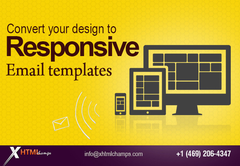 Convert your design to responsive email templates - WhaTech | Web Design and Development | Scoop.it