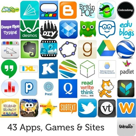 43 Apps, Games, and Websites Transforming This Year's Classrooms | KB...Konnected's  Kaleidoscope of  Wonderful Websites! | Scoop.it
