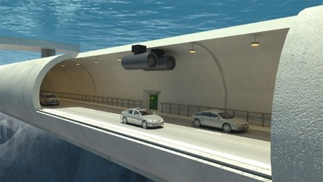 Norway to build world's first floating underwater traffic tunnels | News-Actualites- Nouvel gaye | Scoop.it