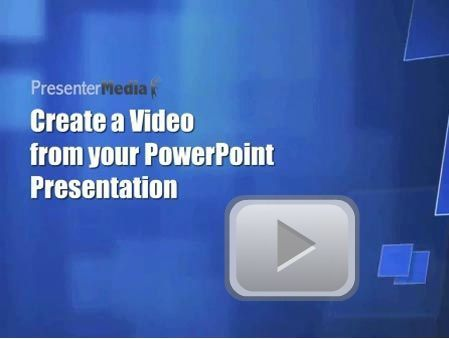 Create a Video from your Presentation | Around LICT | Scoop.it