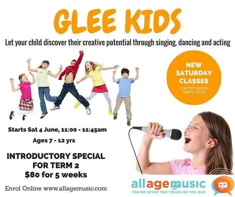 What's NEW on ALL AGE MUSIC GLEE KIDS? | All Age Music | Scoop.it