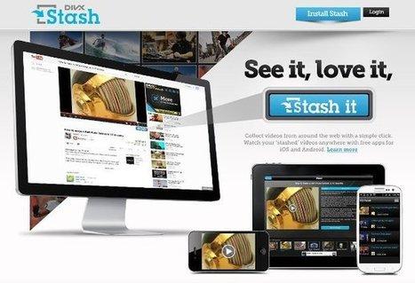 DivX Stash: guardar vídeos para ver después | EdumaTICa: TIC en Educación | Scoop.it