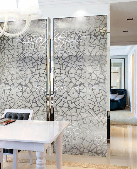 Marvelous Mosaics and Art Glass for interior as well as exterior usage | Designer Tiles | Scoop.it