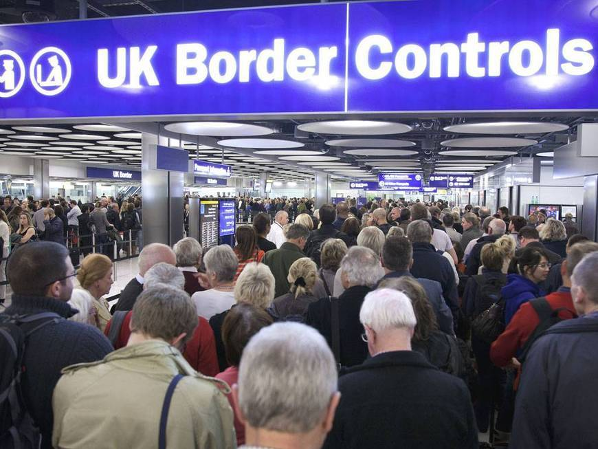 Net immigration into Britain falls 'significantly' | General Studies Unit 2: Politics & Society
