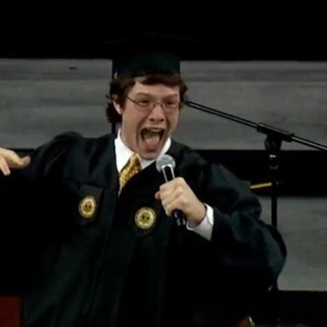 College Student's Speech Makes Him King of the Nerds [UPDATED] | Global business & management | Scoop.it