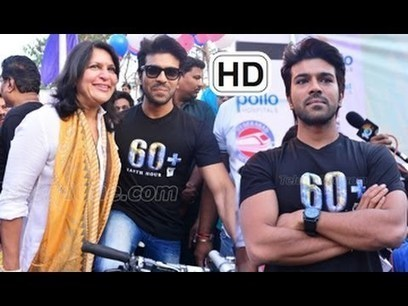 Ram Charan Flags off Eco Friendly Cycle Ride || Pics Collection | Marketing | Scoop.it