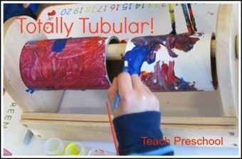 Totally Tubular: Creative expression on a tube | Teach Preschool | Scoop.it
