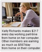 News Daily 7 - Work at home mum makes $10,397/month working part-time from home | KASONGOR | Scoop.it