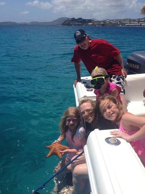 Starfish, sea turtles, sting rays and more! - Sonic Charters | St Thomas Boat Rental | Scoop.it