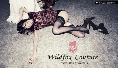 Revolve Clothing - Wildfox Couture / 12.18 | alice in fashionland | Scoop.it