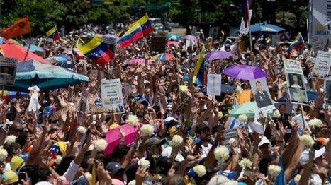Third opposition politician barred in Venezuela - BBC News   Wandering Salsero   Scoop.it