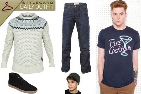 Men's Monday: Daily Outfit – Christmas Eve | StyleCard Fashion Portal | StyleCard Fashion | Scoop.it