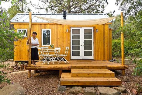 Vina Lustado: Long Journey, Tiny House - Organic Connections | Environmental Innovation | Scoop.it