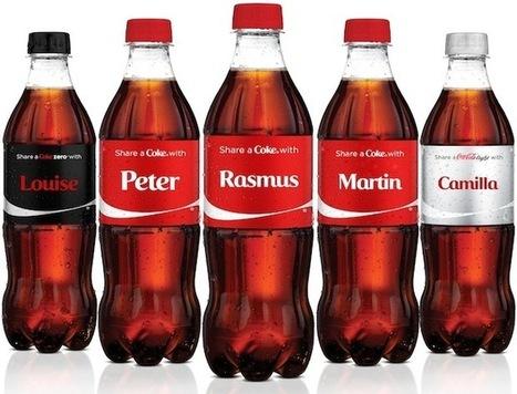 Nu skifter Coca-Cola navn | Afsætning | Scoop.it