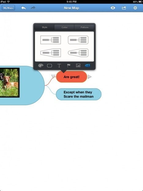 BigMind - An Intuitive Mind Mapping iPad App | Technology and language learning | Scoop.it