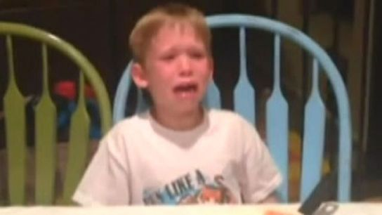 Arizona boy has mini-meltdown upon learning he'll have a new sister in viral video